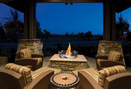 Outdoor Gas Fire Pits