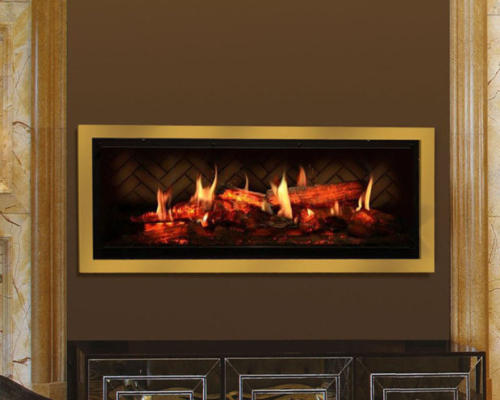 electric fireplace look real