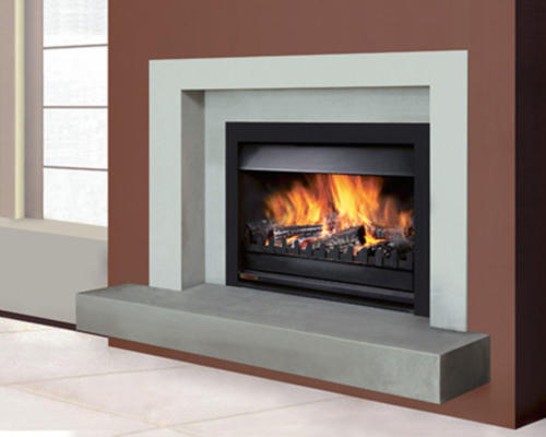 What is the most efficient wood burning fireplace